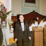 Prima di un concerto. 1980 (circa)