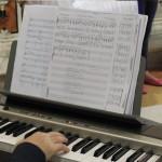 Un altro spartito eseguito in serata con musica scritta da Filippo Veniero