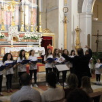 """Il Coro di voci bianche """"Arcobaleno"""", diretto dal M° Carlo Intoccia"""