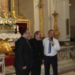 I tre Maestri della serata. Da sinistra: Nicola Capano, Vicente Pepe, Carlo Intoccia