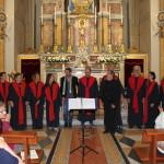 """Al termine dell'esibizione del Coro """"Armonia"""""""