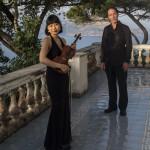 La violinista Yuko Okano e il pianista Pierfrancesco Borrelli