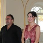 Il M° Nicola Capano e la soprano Mariateresa Polese