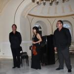 Il Presidente Anna Maria Veniero con i musicisti