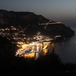 Panorama di Marina Grande da Villa Lysis